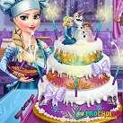 Công chúa làm bánh