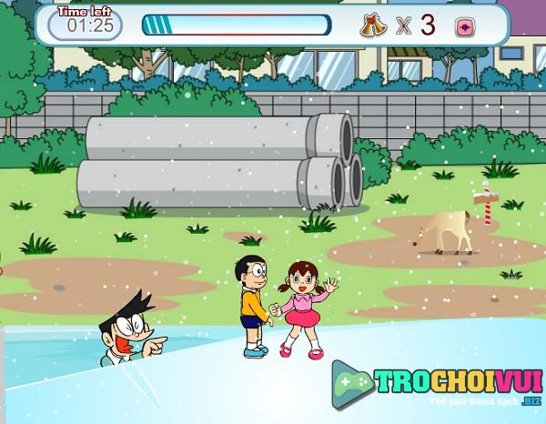 Game Doremon Nobita va shizuka hon nhau