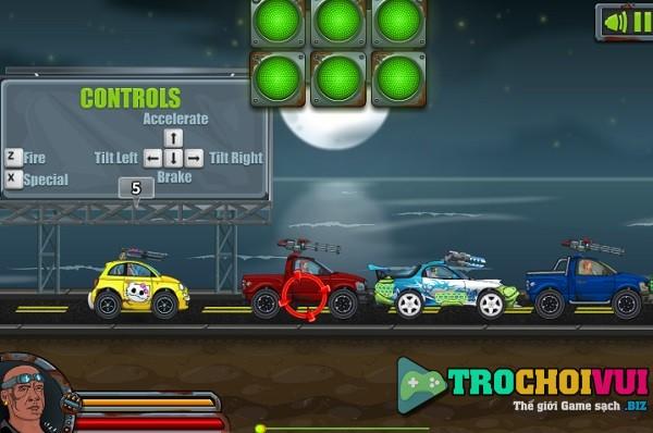 game Dua xe ban nhau online