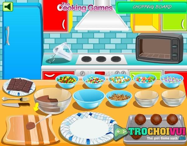 game hoc tap lam keo socola