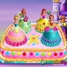 Làm bánh kem công chúa
