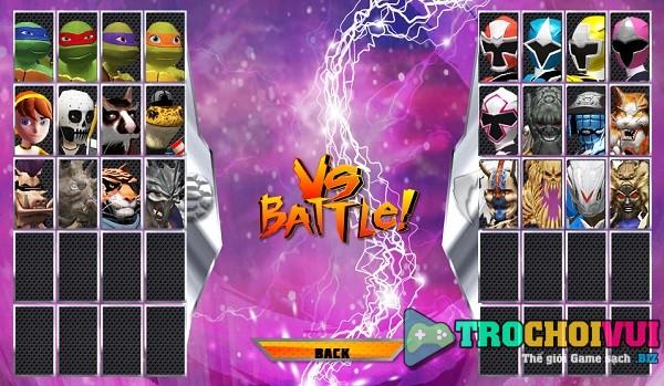 game Ninja rua vs sieu nhan 2 hinh anh 1