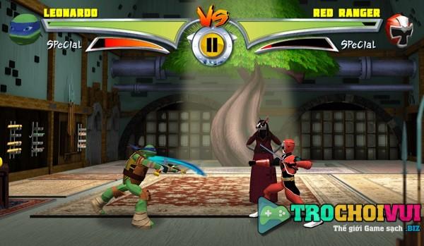 game Ninja rua vs sieu nhan 2 hinh anh 2
