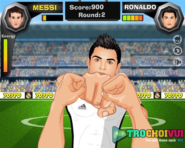Game Ronaldo doi dau voi Messi