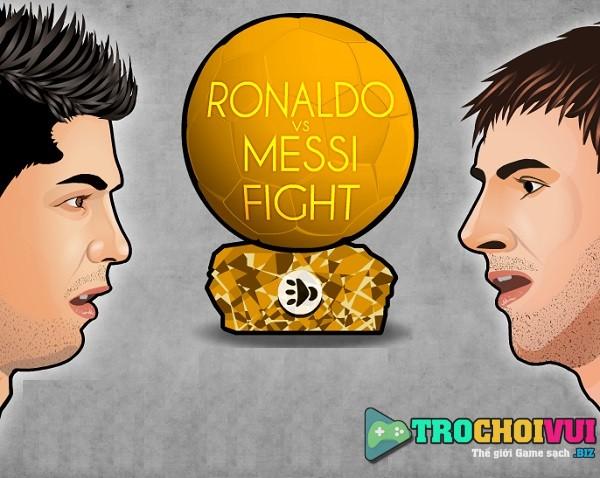 game Ronaldo vs Messi fight