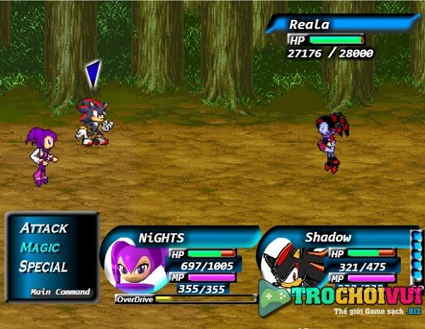 game Sonic danh nhau x7 y8