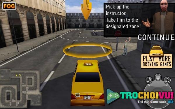 game thi bang lai Taxi New York 3D