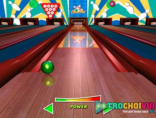 game Vua bowling 3D 24h