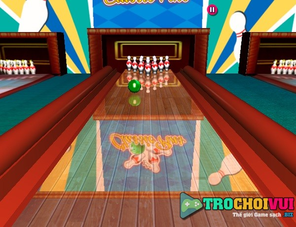 game Vua bowling 3D offline