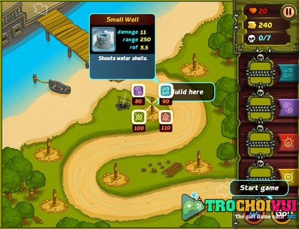 game Bau vat rung xanh 4 offline online