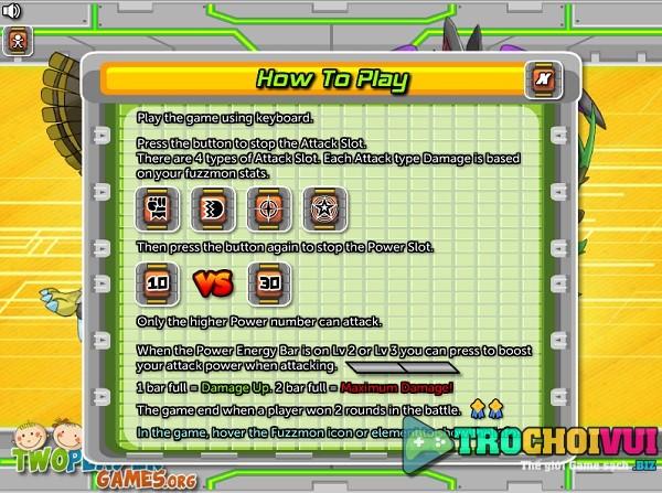 game Dang cap thu cung pokemon