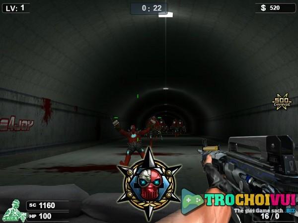 game Dot kich ban zombie 2 3 4