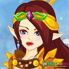 Nữ chiến binh xinh đẹp