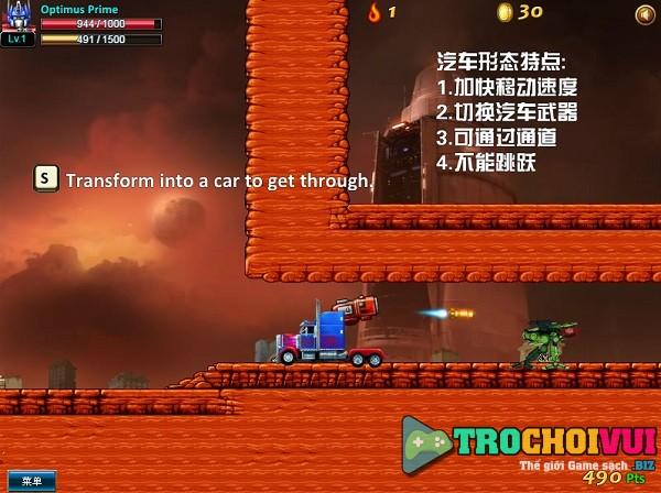 game Robot dai chien 2 nguoi choi