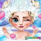 Tắm cho công chúa