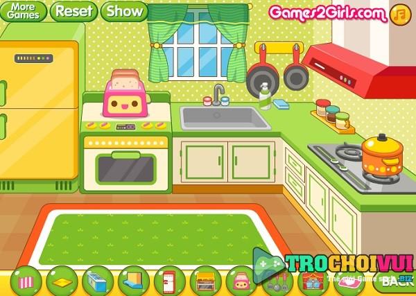 game Trang tri nha cua cho cong chua