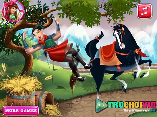 game Tri thuong cho cong chua moc lan