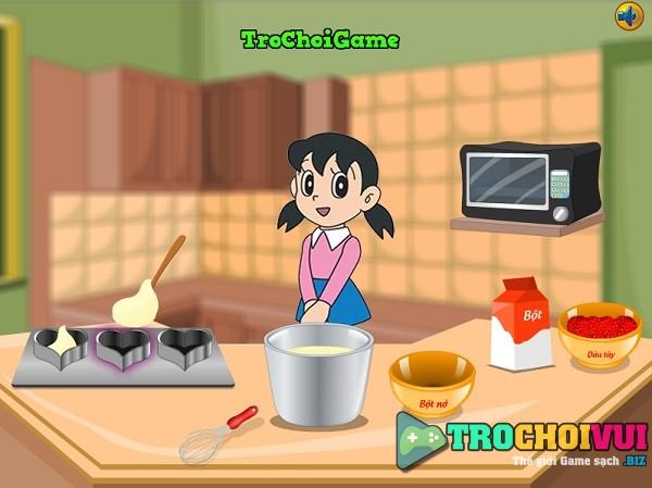 Choi game Xuka lam banh kem