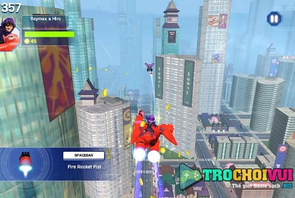 game Biet doi Big hero 6 pc