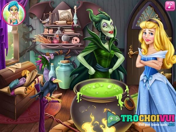 Game Cong chua ngu trong rung Aurora hoa giai loi nguyen cua tien hac am