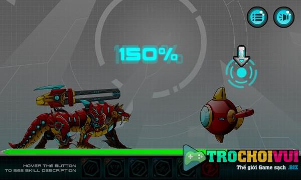game Dai chien robot cho soi battle robot wolf age