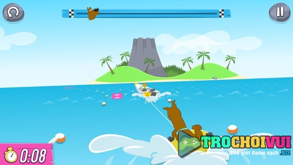 game Dai hoi the thao tom va jerry scooby doo bunny