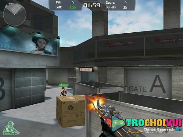 game Dot kich huyen thoai crossfire legend