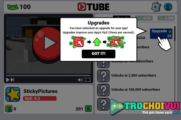 game Kiem tien youtube nhanh nhat