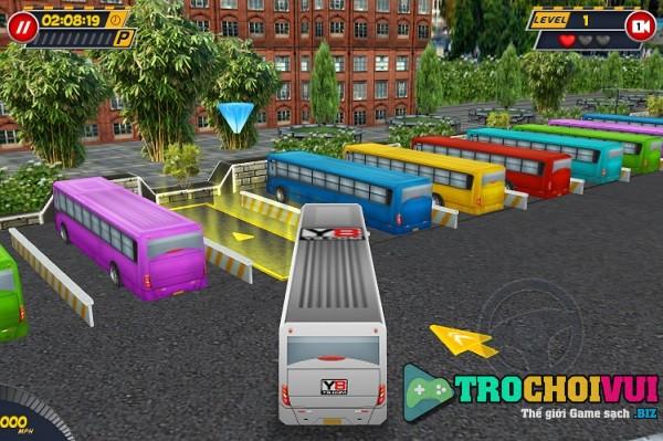 game Lai xe buyt 3D cho don khach