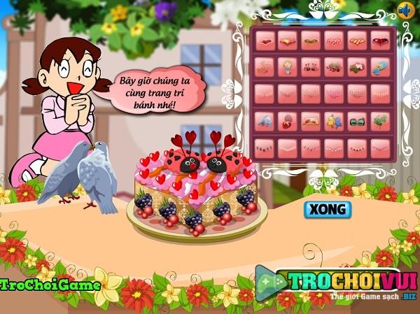 Game Lam banh cung chi xuka