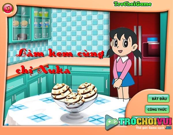 game Lam kem cung chi Xuka online