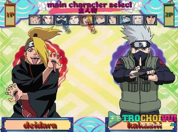 game Naruto song dau pc