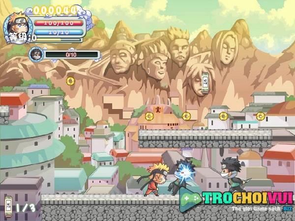 game Ninja huyen thoai Naruto offline