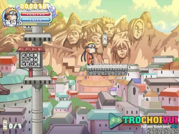 game Ninja huyen thoai Naruto online