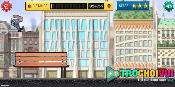 game Phi vu dong troi zootopia online