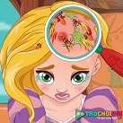 Rapunzel khám da đầu