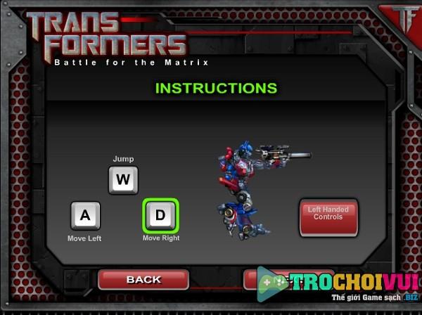 game Robot dai chien 4 online