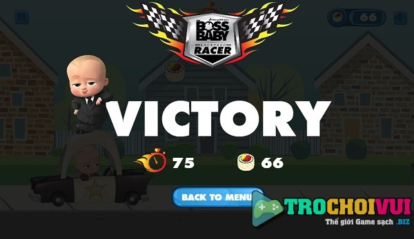 Game The boss baby backyard racer online