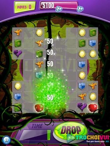game Xep kim cuong Disney online