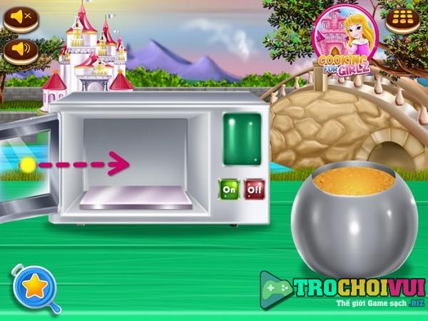 game nau an Lam banh xe ngua