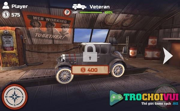 Choi game Dua xe ban zombie