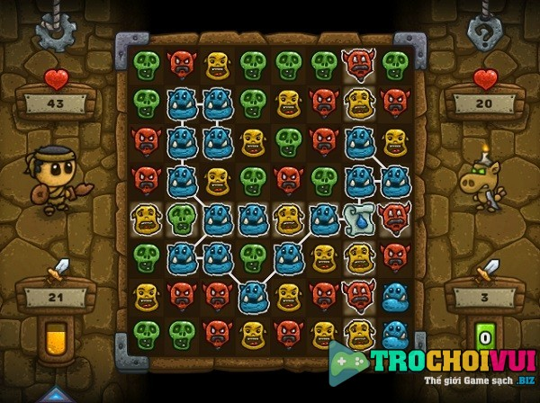 game Anh hung diet quy heroic dungeon