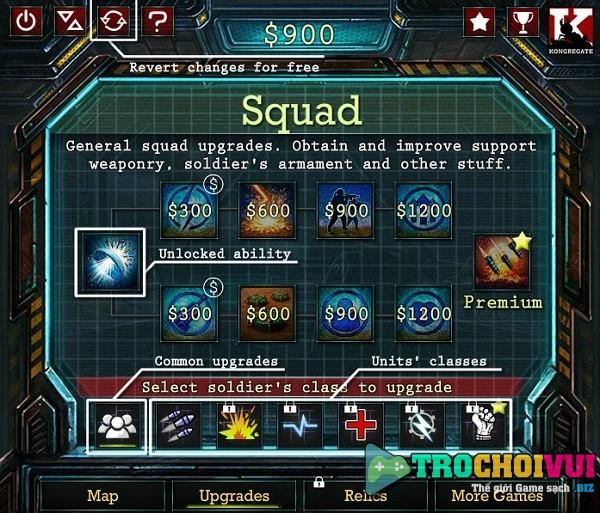 game Biet doi bao ve khong gian