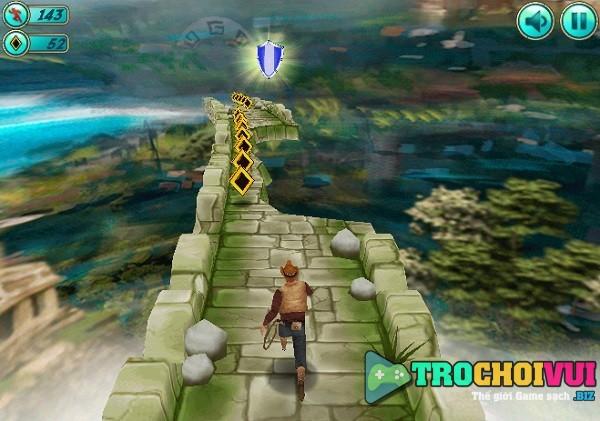 game Chay an dong tien xu vang