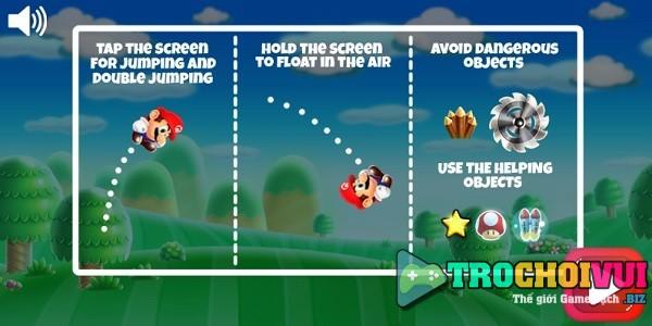 game Chay di Mario run cho android