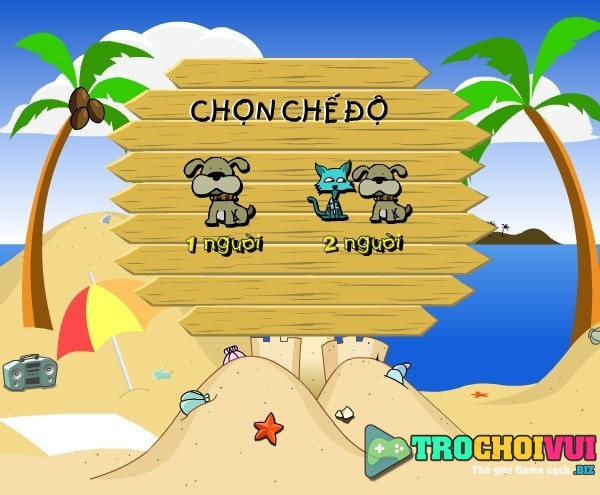 game Cho meo nem nhau 2 nguoi