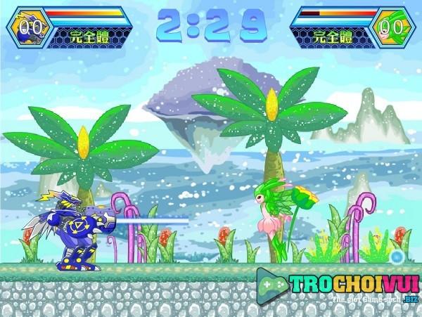 game Digimon song dau 2 nguoi
