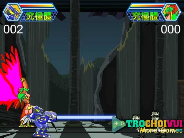 game Digimon vs Zombies vui game 24h