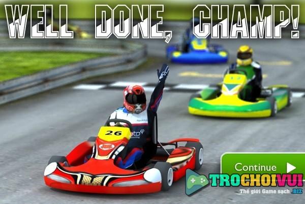 game Dua xe go Kart 3D