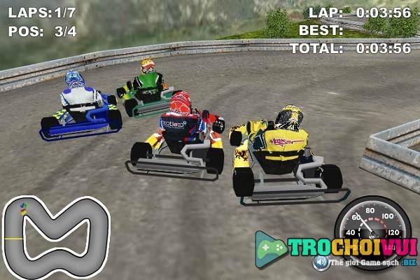 game Dua xe Kart 3D offline cho pc